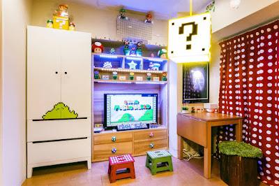 Habitaciones de videojuegos Retro