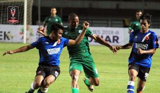 PSM Makassar vs PSMS Medan 1-2