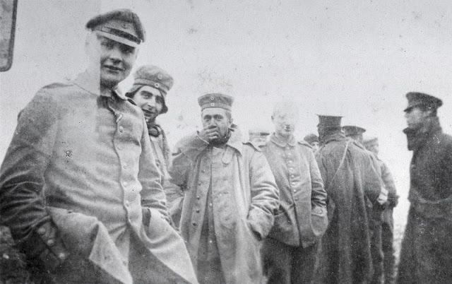 Fotografías de la tregua de Navidad de 1914