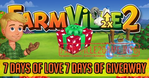 7 Days! 7 Big Giveaways! 7 Days of love