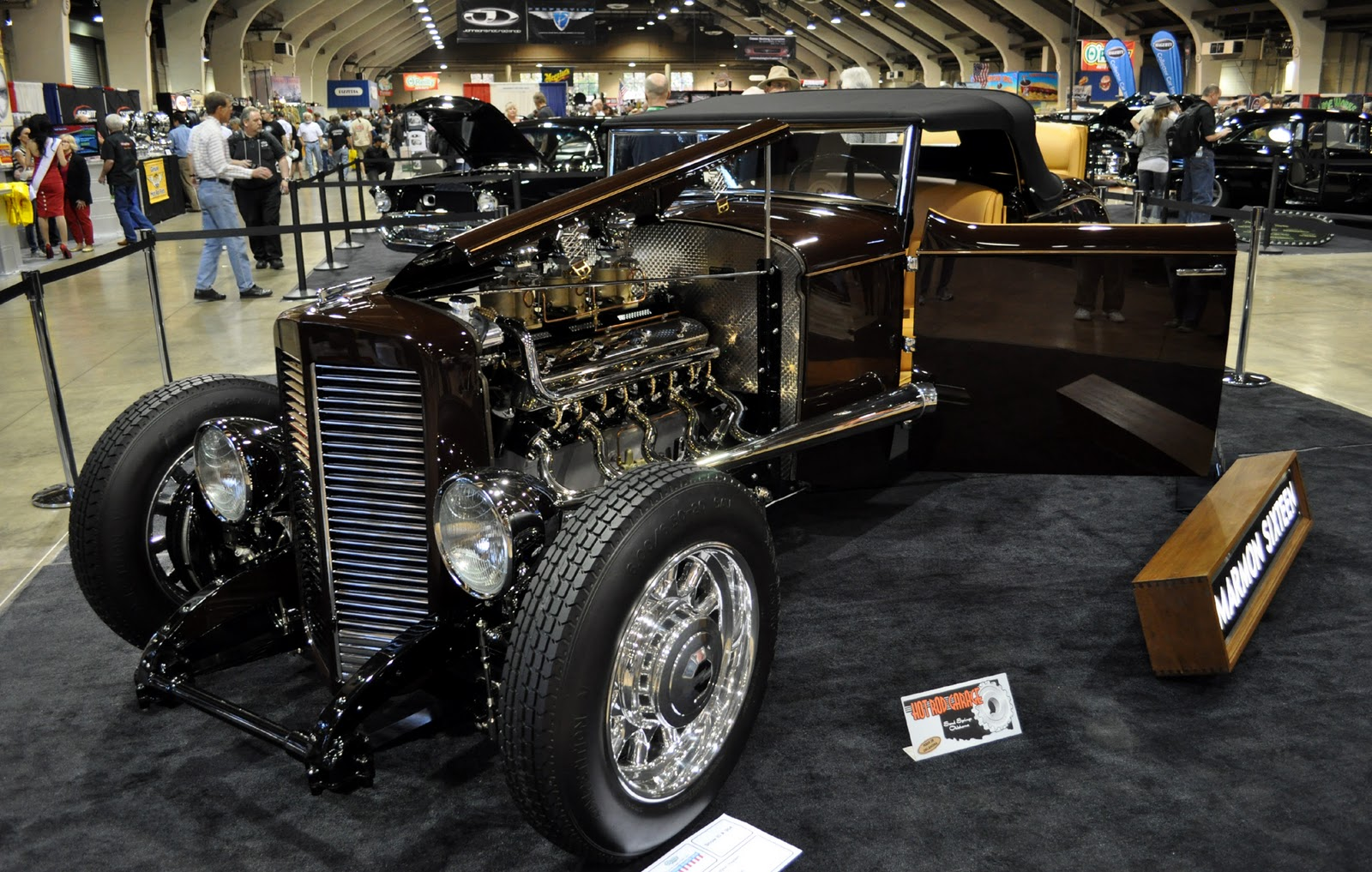 just a car guy the hot rod garage brought a marmon sixteen to the gnrs wow that isn 39 t what. Black Bedroom Furniture Sets. Home Design Ideas