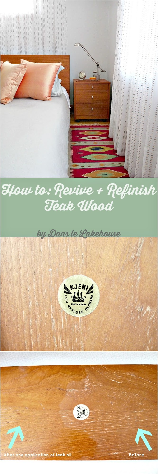 How to revive, refinish and restore teak wood with teak oil // Tips and Tricks