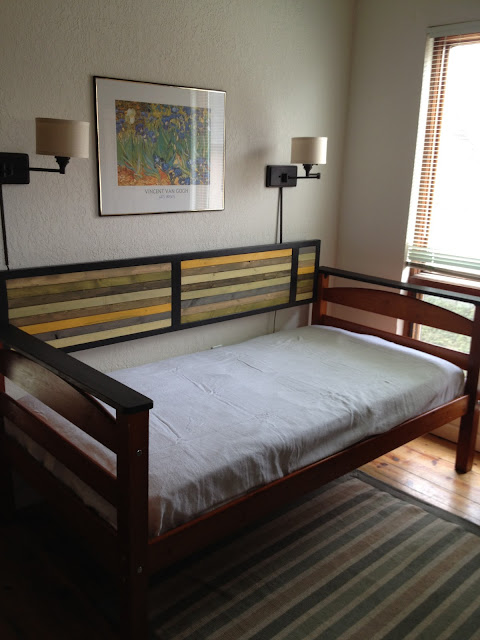 Black Twin Bed Frame Cedar Haus Wood Studio: Repurposed Twin Bed To Daybed