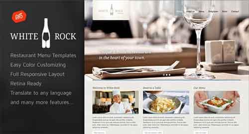 White Rock v2.2 WordPress Theme