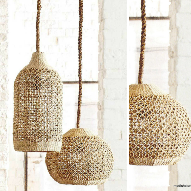 woven pendants • the round button blog