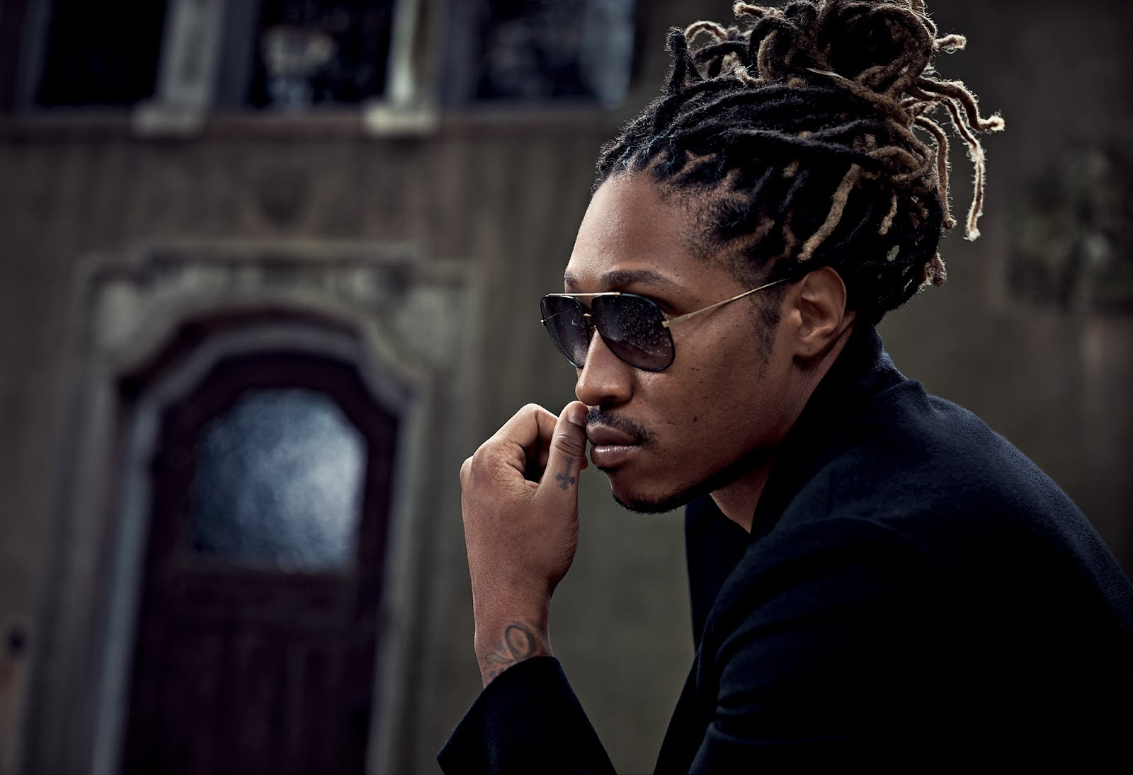Professional rapper Nayvadius DeMun Wilburn aka Future