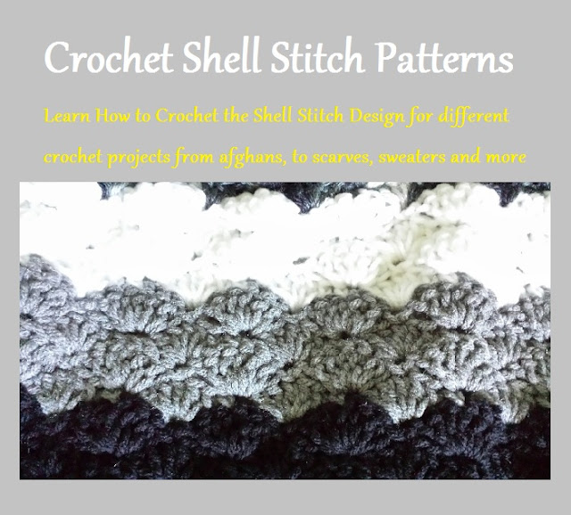 Craftdrawer crafts may 2017 crochet shell stitch pattern fandeluxe Images
