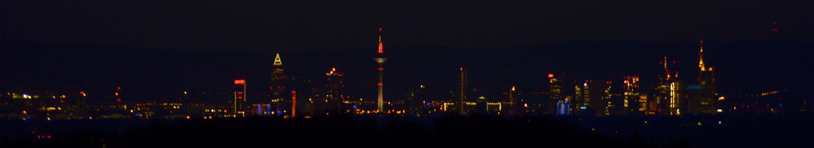 lichtverschmutzung skyline frankfurt main. Black Bedroom Furniture Sets. Home Design Ideas