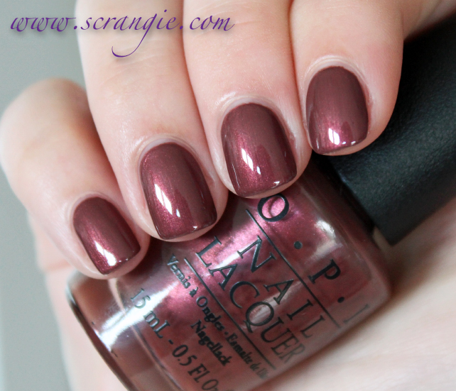 Scrangie Opi San Francisco Collection Fall Winter 2013 Swatches And Review