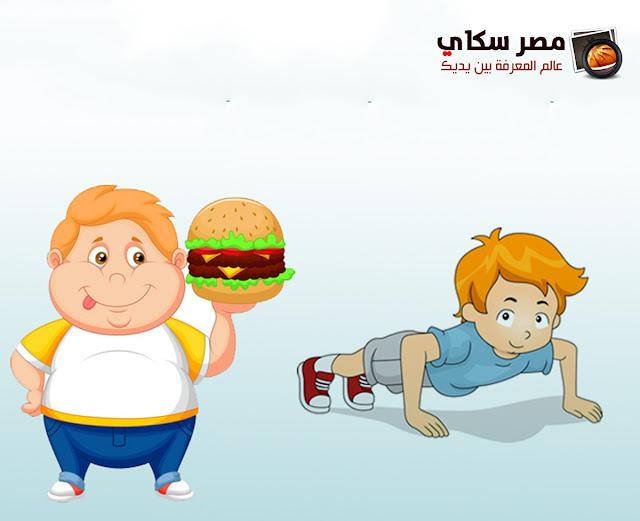 أسباب الوزن الزائد والسمنة لدي الأطفال Causes of overweight in children