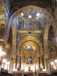 mosaici colonne archi