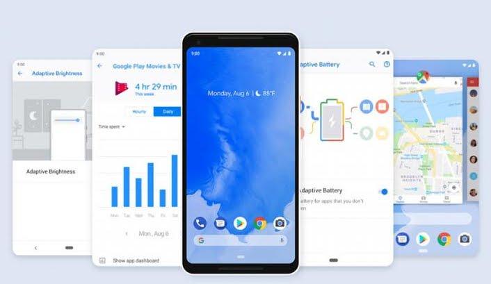 Android Pie, ultimo aggiornamento del sistema operativo di Google.