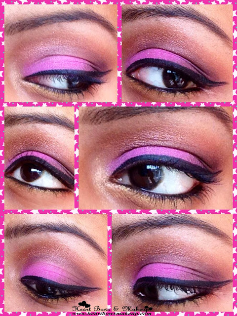 step by step party eyemakeup tutorial