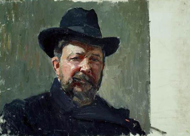 Joaquín Sorolla y Bastida, Self Portrait, Portraits of Painters, Joaquín Sorolla  Bastida, Fine arts, Sorolla, Autorretratos de Sorolla, Joaquín Sorolla