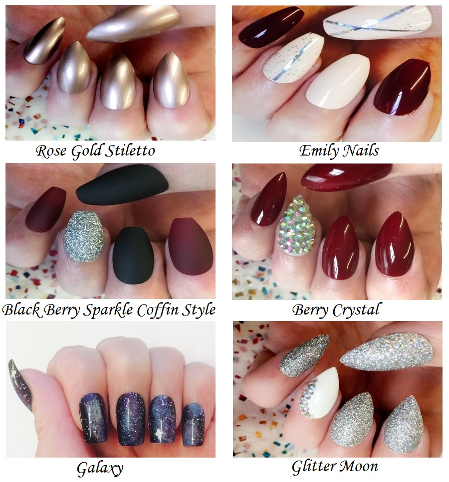 The Style Guide Blog, Beauty Blog, Nail Art, Stiletto nails, coffin nails