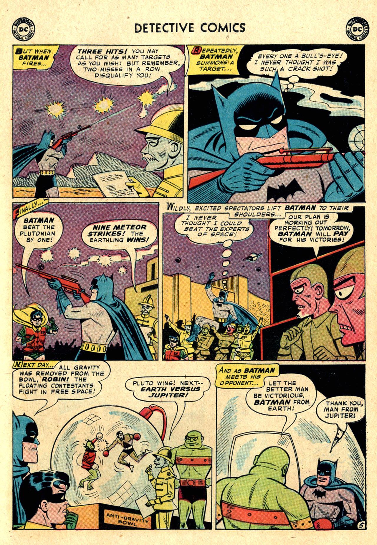 Read online Detective Comics (1937) comic -  Issue #260 - 7
