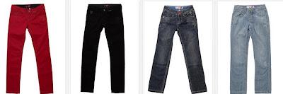 Pantalones vaqueros para niña