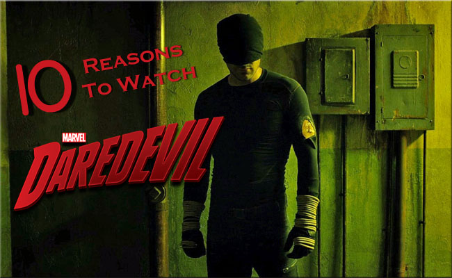 Know Your Show: Daredevil #AtoZChallenge