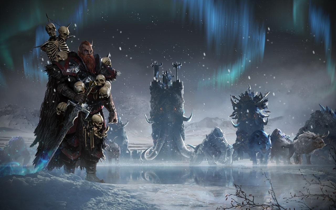 Consigue la raza de los Norscan como aliciente de reserva de Total War Warhammer II