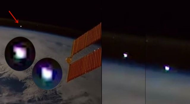 Fast Moving Meteor-Like Object from Space Captured by ISS  Meteor%2Bspace%2Bastronaut%2Bnasa%2BISS