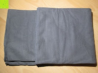 gefaltet: Yoga-Decke »Sudore« Die Yogadecke für Hot-Yoga, als Unterlage für Yogaübungen und zur Entspannung danach, 183 x 61 cm, in vielen Farben
