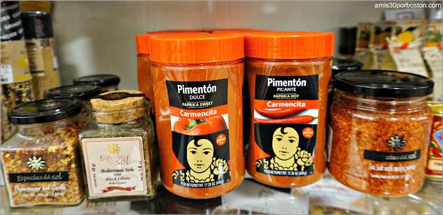 Pimentón y otras Especias Españolas en los Comercios de Massachusetts