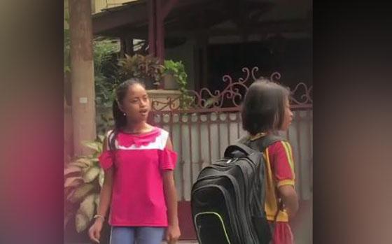 Video Kids Zaman Now, Bocah Perempuan Dilabrak di Jalanan Komplek Mendadak Viral