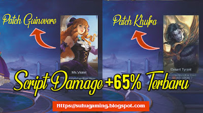 Download Script Damage +65% Patch Guinevere Mobile Legends: Bang Bang Terbaru 2019
