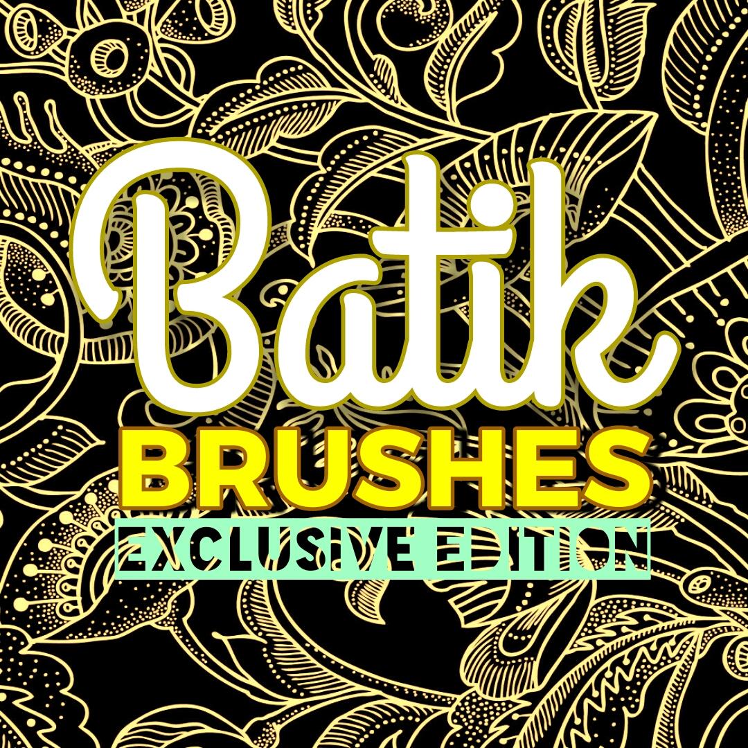 Batik Brushes Photoshop