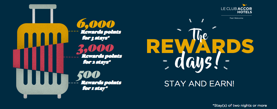 Accor Hotels Earn Up To 6 000 Bonus Le Club Accorhotels Points On Multiple Night Stays Worldwide