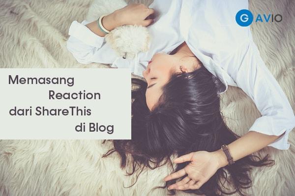 Cara Menambahkan Reaction Button di Blog