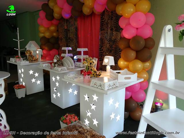 Mesa temática da Oncinha - Festa infantil