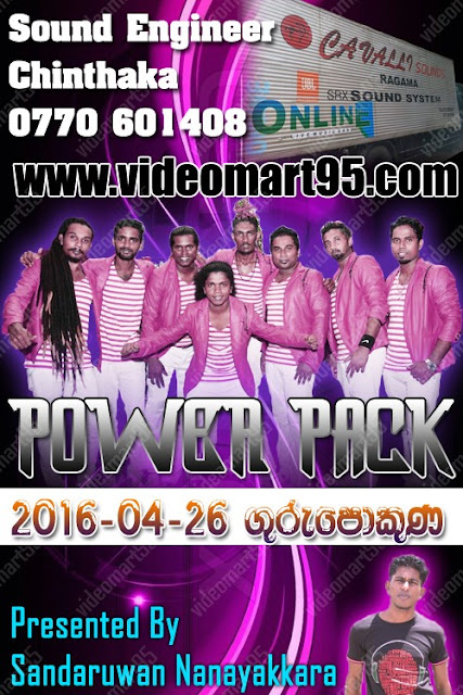 POWER PACK LIVE IN HUNGAMA (GURU POKUNA) 2016-04-26