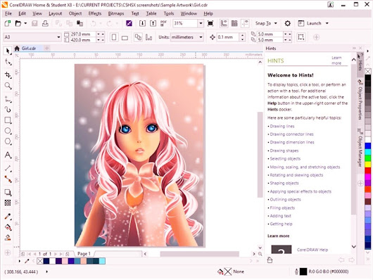 Corel Draw Graphics Suite x8 Full Version with Crack Free Download Updated 2018