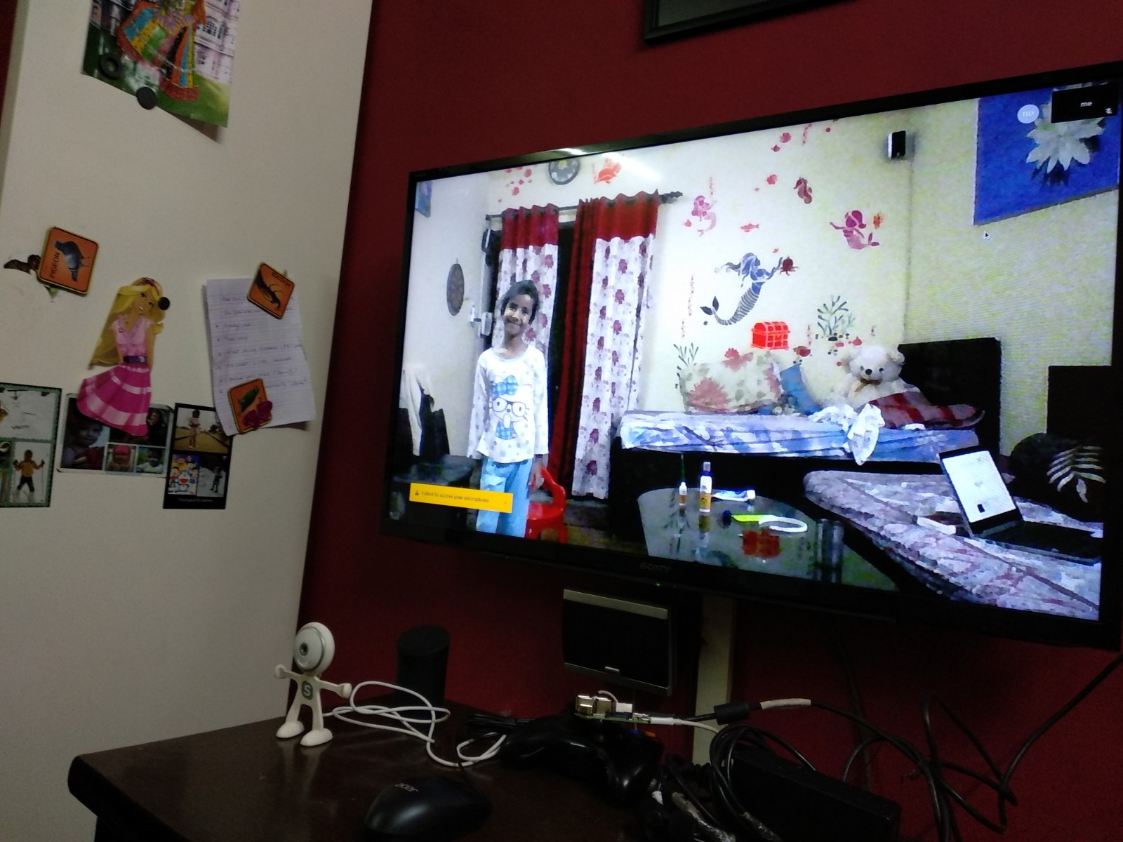 How to Setup Low cost Video Conferencing System for Home