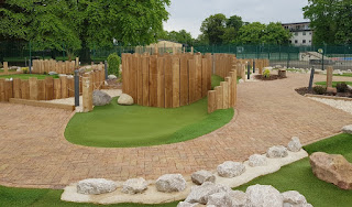 Adventure Golf at The Leys Recreation Ground in Witney
