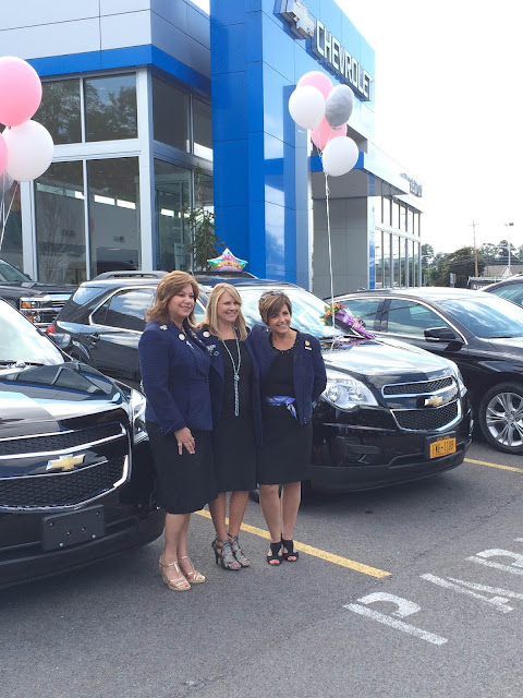 Mary Kay Directors Earn New Chevy Equinoxs, Delivered at Hoselton!