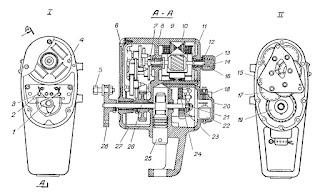 Конструкция прямоходного электрического исполнительного механизма типа ПР