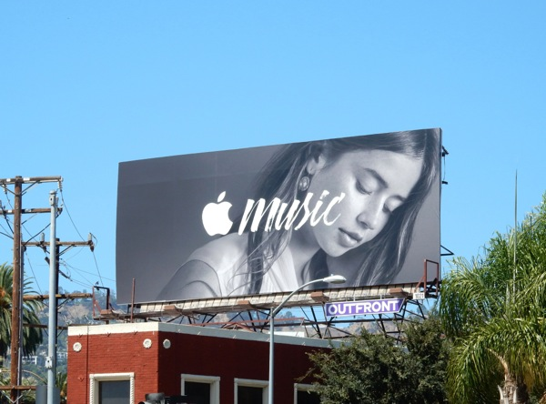 Apple Music billboard
