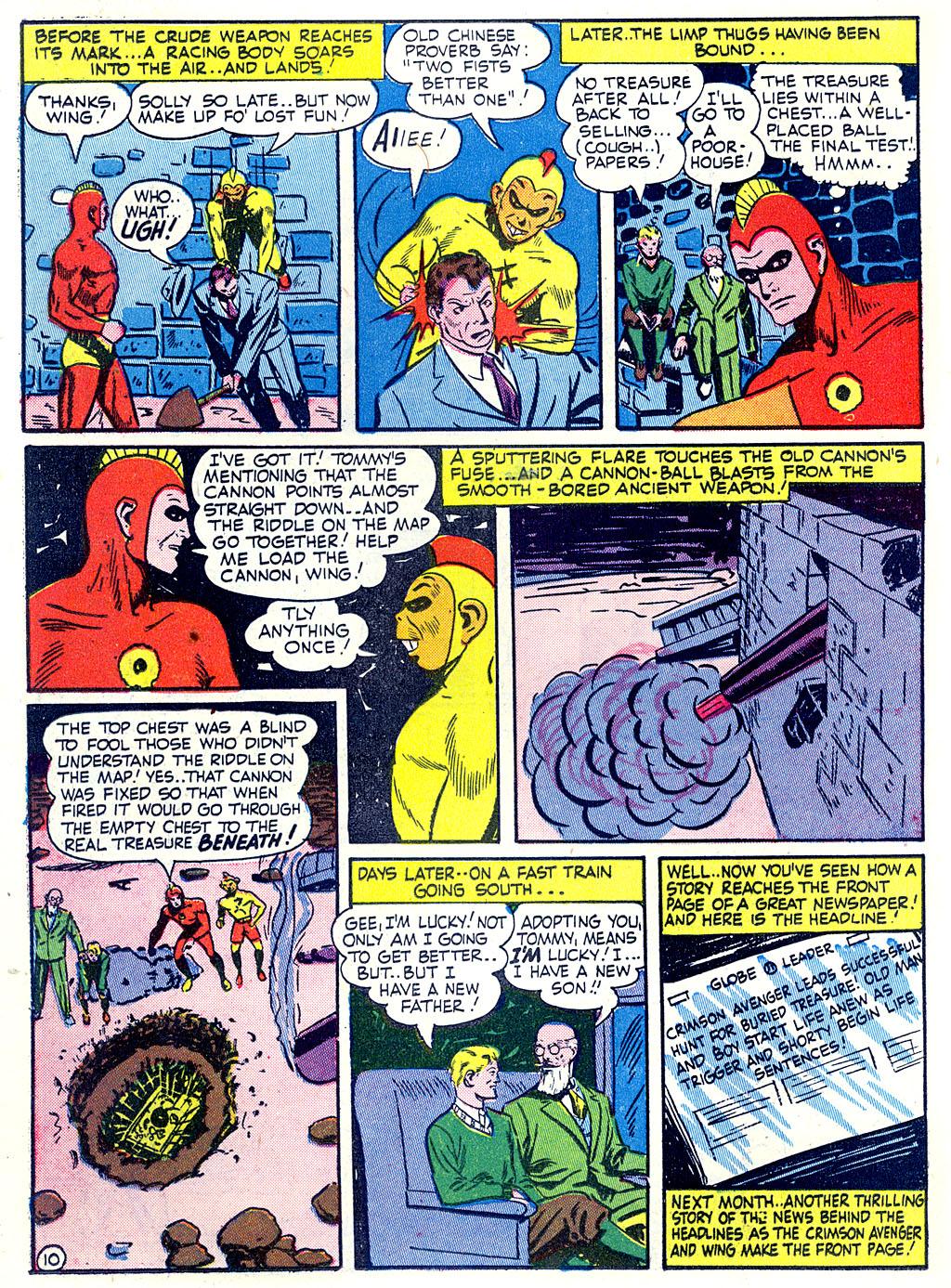 Read online Detective Comics (1937) comic -  Issue #68 - 40