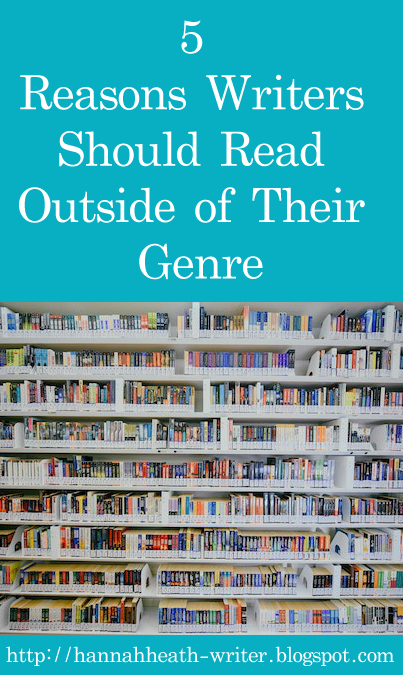 5 Reasons Writers Should Read Outside of Their Genre