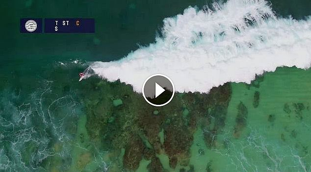 Pipe from Above Drone Footage at the Pipe Masters