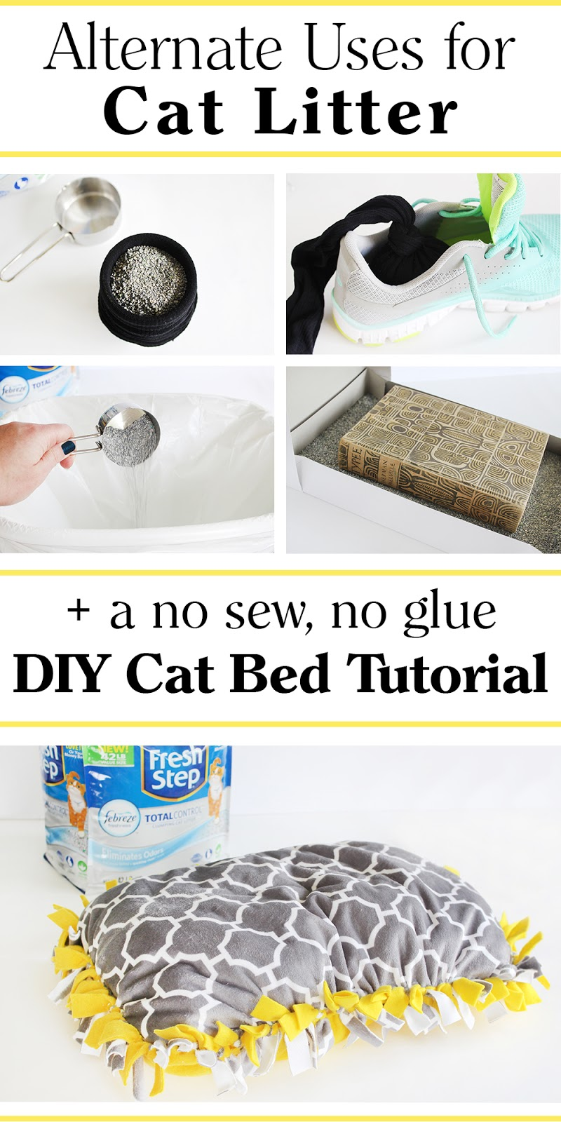 Southern mom loves alternate uses for cat litter a no sew no an error occurred jeuxipadfo Gallery