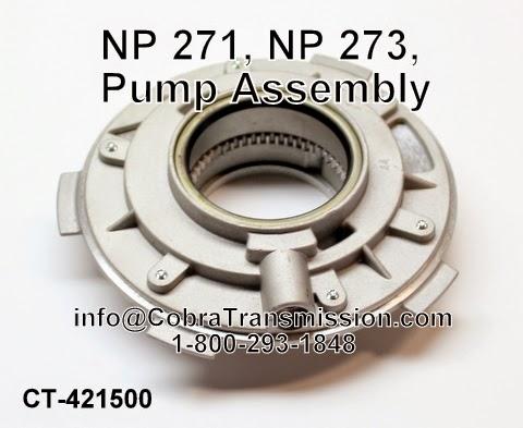 Cobra Transmission Parts 1-800-293-1848: NP271 Transfer Case