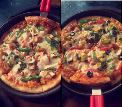 Chilly Paneer & Mexican Treasure Pizza by Spezia Bistro Cafe, Hudson Lane, Gtb Nagar Delhi