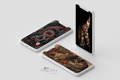 Template Hishoot2i iPhone X 3 Screens