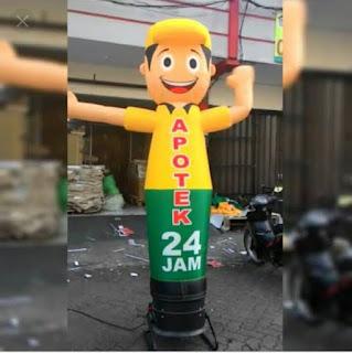 Balon Dance dancer dansa joget, pabrik balon sky air dancing bogor bandung jakarta depok bekasi karawang