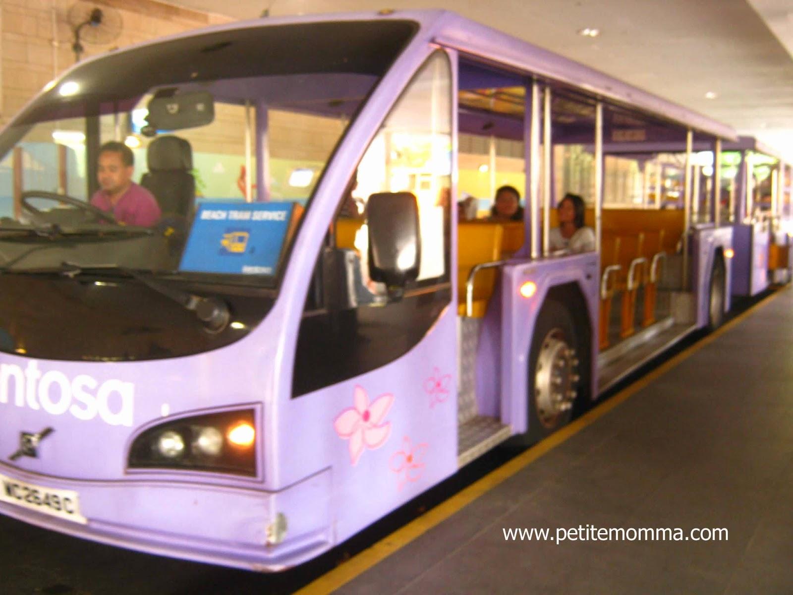 Beach Tram to Palawan Beach