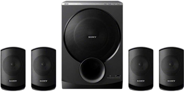 Sony Home Theater, 4.1 channel will give you a full joy of music