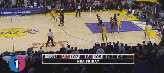 Kobe Bryant's Top 10 Clutch 3 Pointers! (VIDEO)
